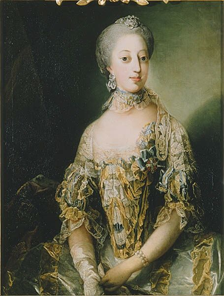 Sofie Magdalene Of Denmark 1746 1813 Daughter Of Frederik V Of