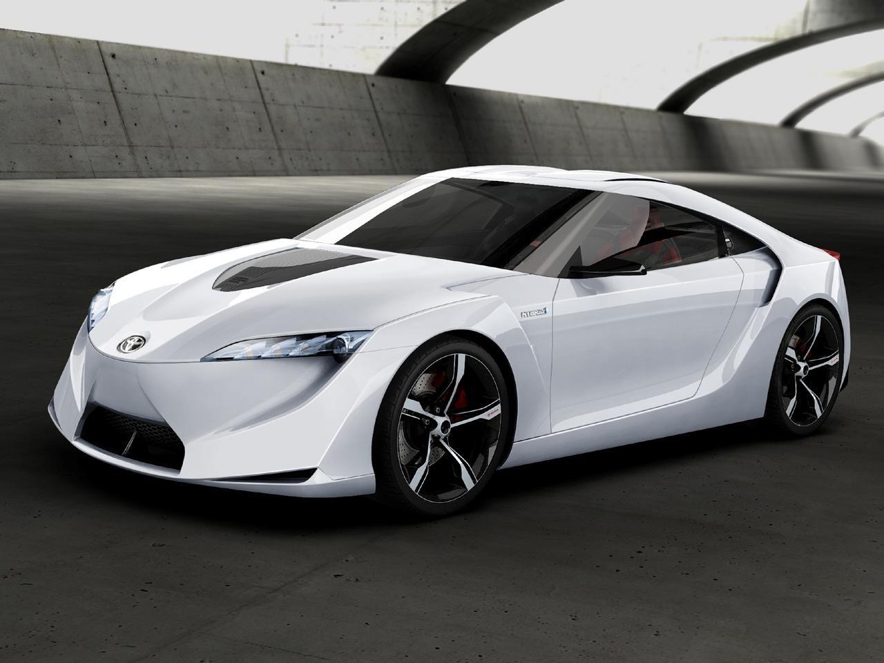 A Toyota Sports Car.
