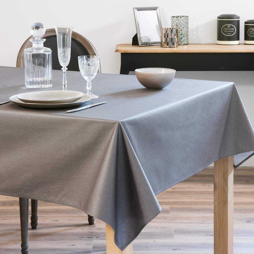 nappe enduite gris anthracite 140 x 250 cm inspiration pi ce vivre pinterest maison du. Black Bedroom Furniture Sets. Home Design Ideas
