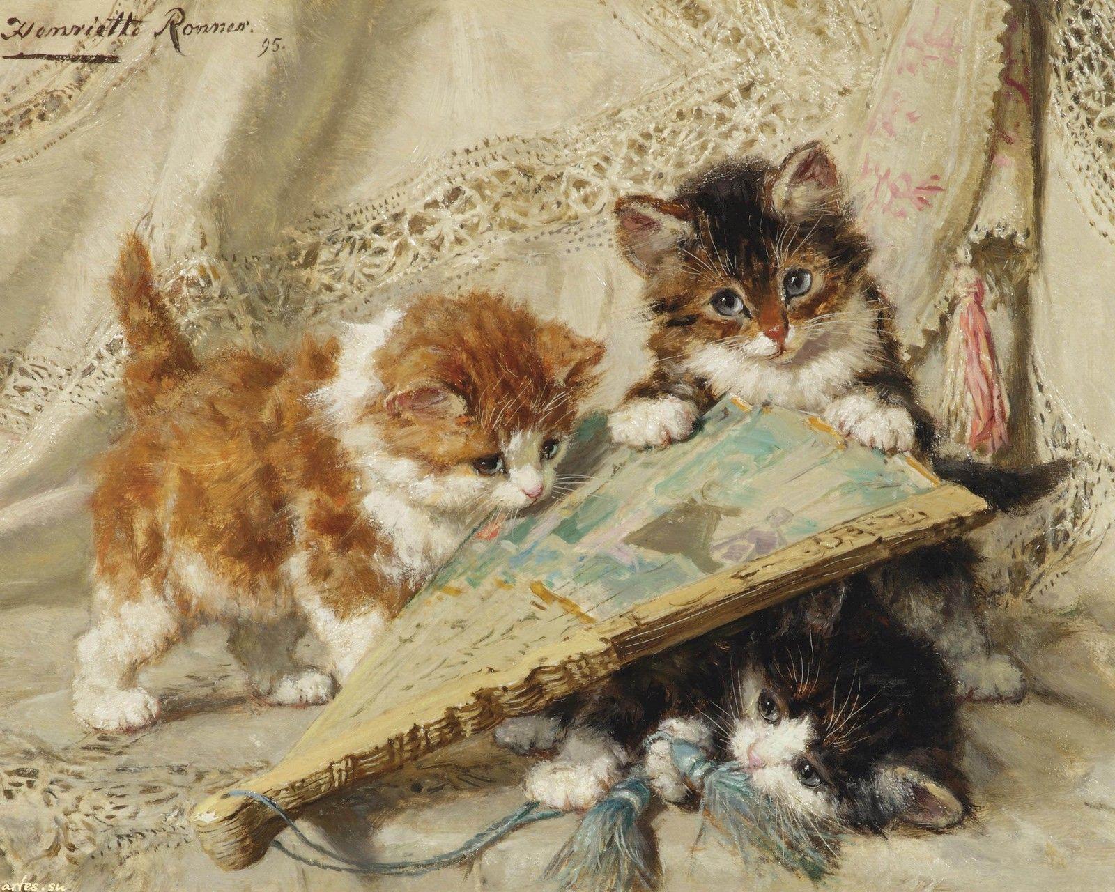 кошки ретро картинки большинство людей получат