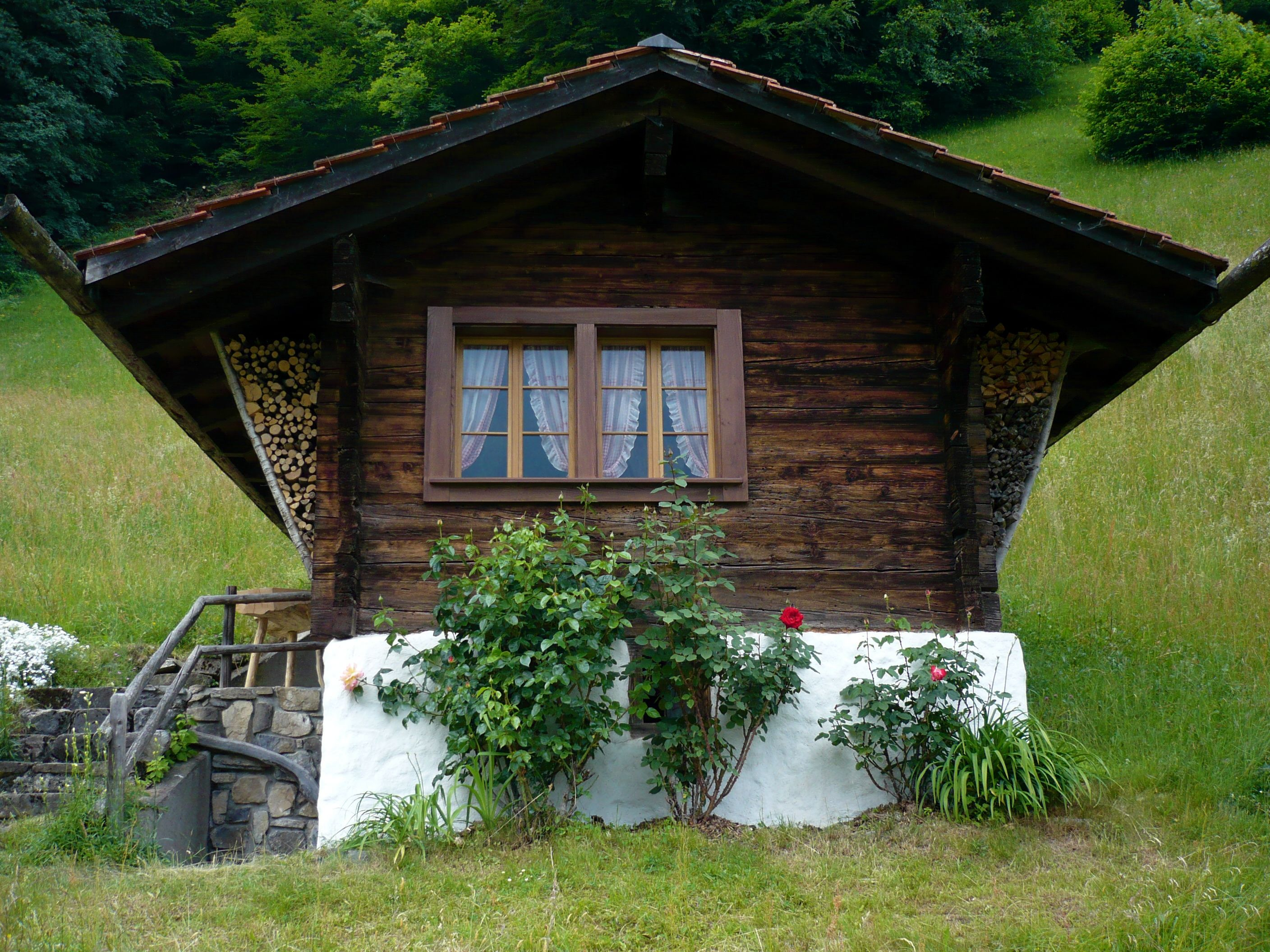 Lungern Schonbuel Traditional Swiss Chalet Swiss House Swiss Cottage Cabins In The Woods