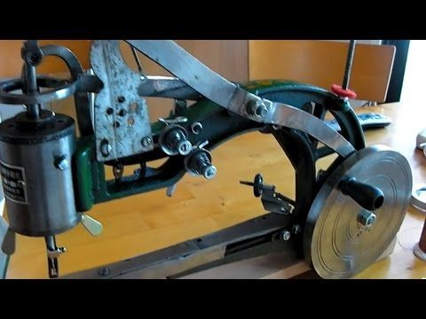 Chinese Leather Patcher Sewing Machine Review Singer