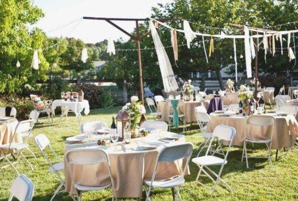 30 Gorgeous Outdoor Wedding Decor Ideas Budget Idea