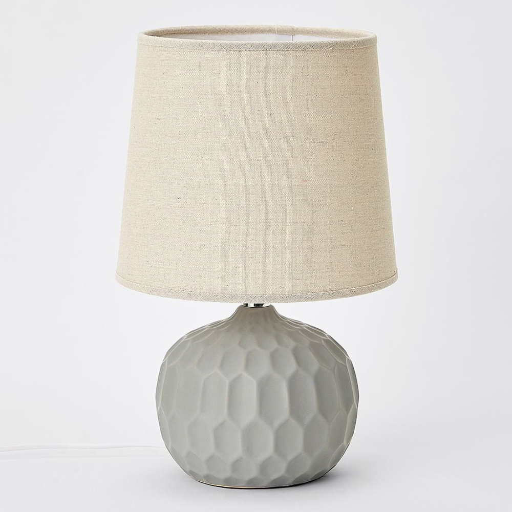 Evelyn Table Lamp In 2020 With Images Grey Table Lamps Table