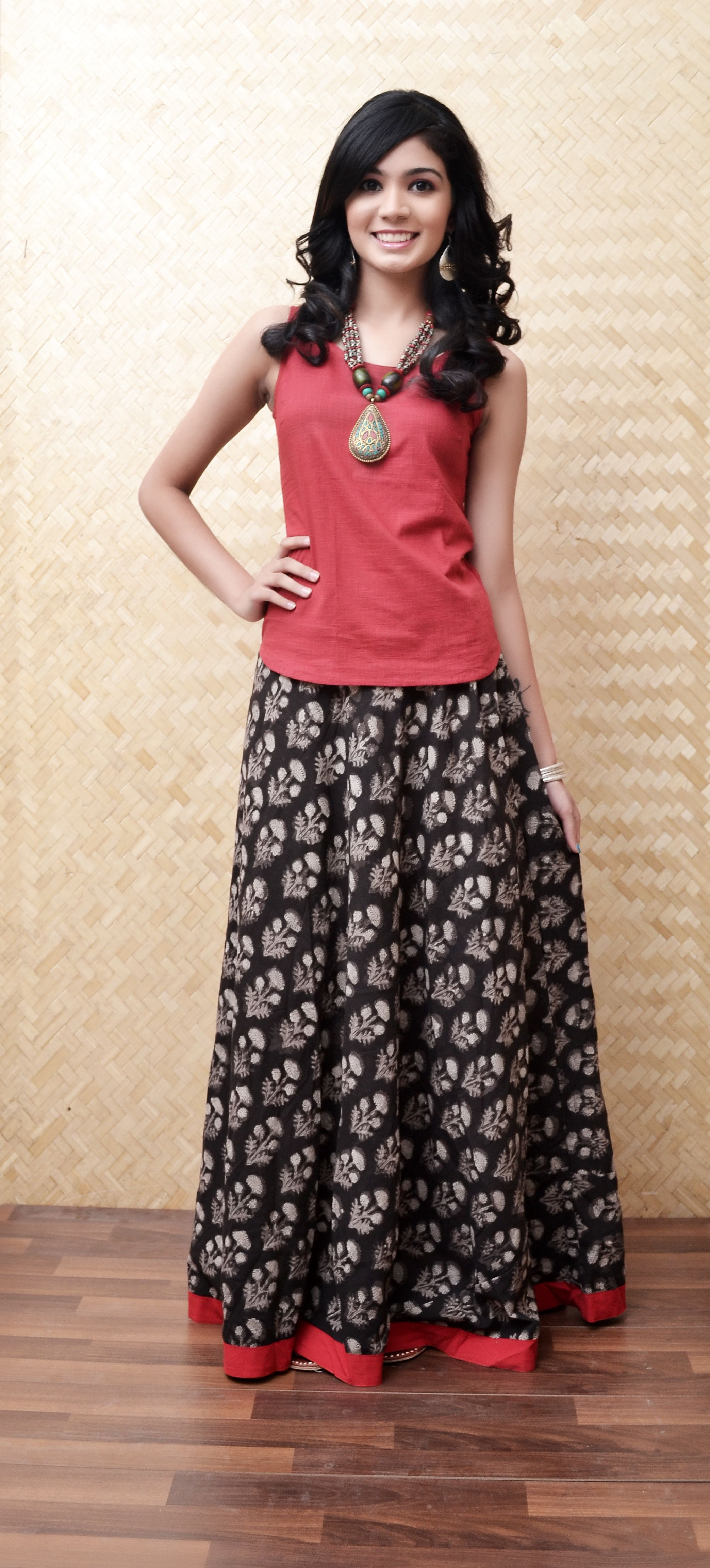 c61b4e4181 Different colours to wear. Red | University Diaries | Kalamkari ...
