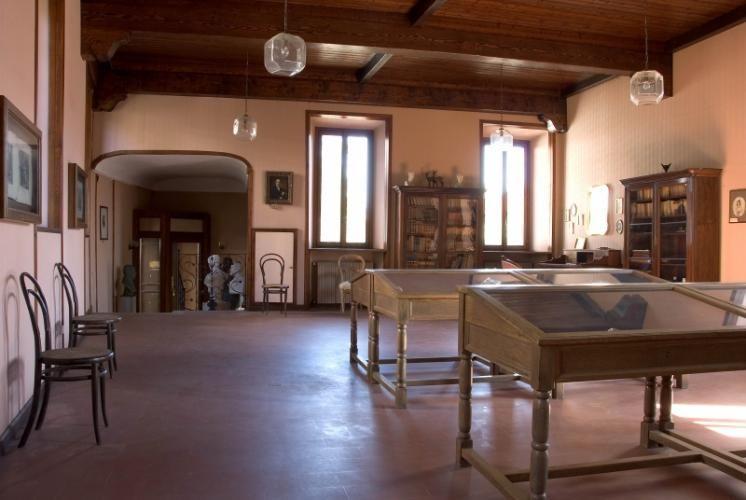 Interno di Palazzo Stampa, residenza di Alessandro Manzoni ...