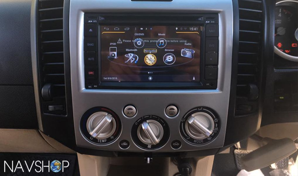 Installation of S160 Universal into a 2011 Ford Everest