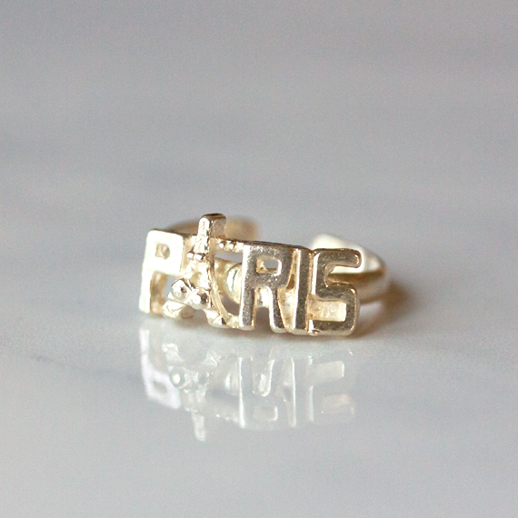 SILVER PARIS - Ring