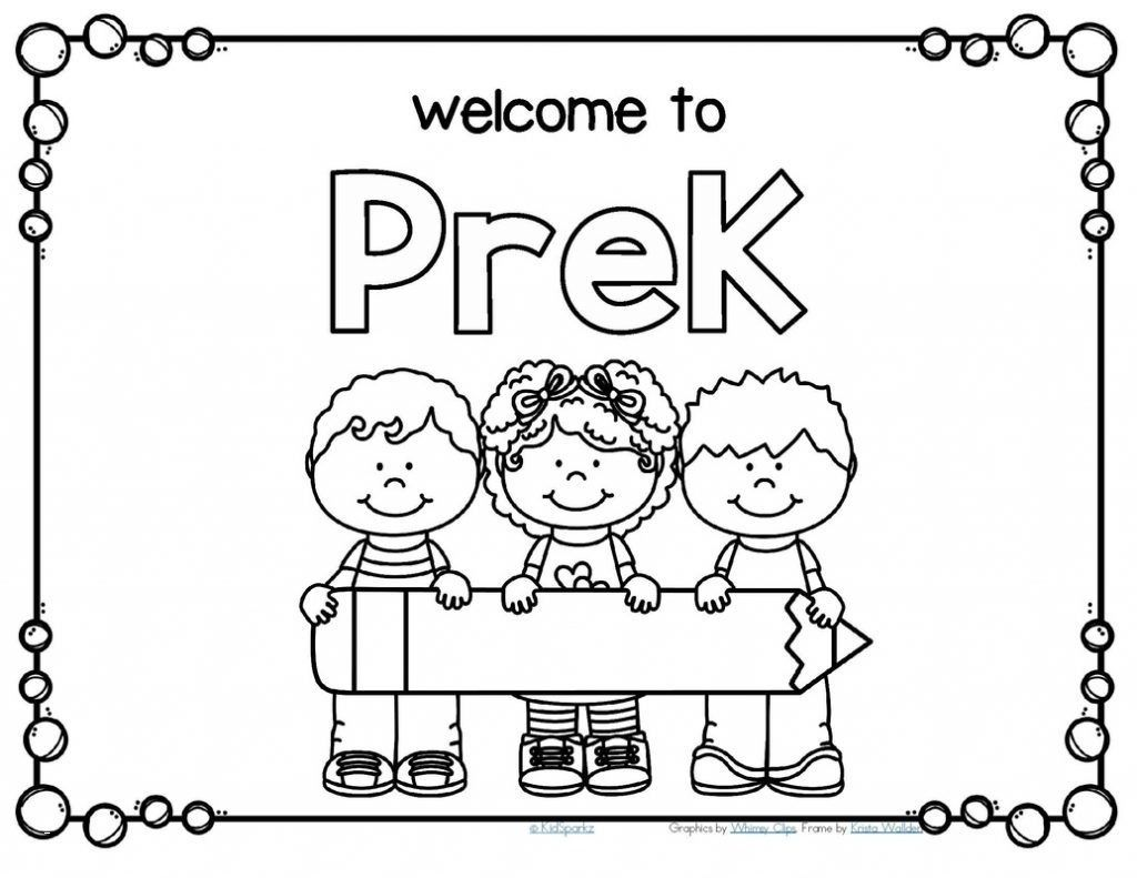Welcome Back To School Coloring Pages Best Of First Day Preschool
