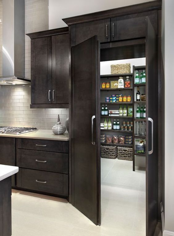 30 Stylish Kitchen Pantry Ideas 2019 (For Cool Kitchen)