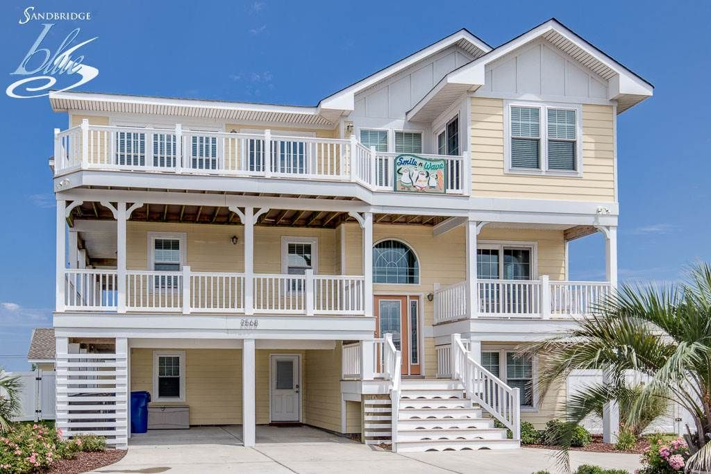 Smile N Wave Boys This Premier Beach Vacation Property Will Put A Smile On Ever Virginia Beach Vacation Virginia Beach Houses Virginia Beach Vacation Rentals