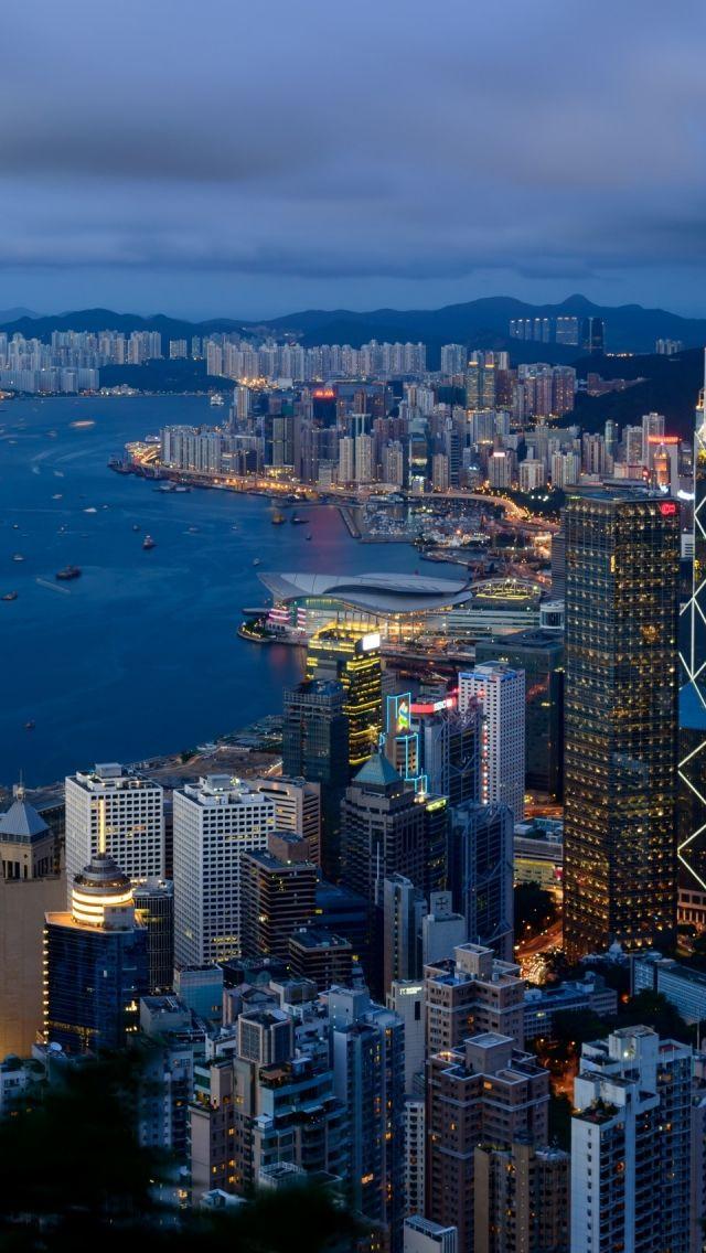 Hong Kong City View China City City View City Skyline