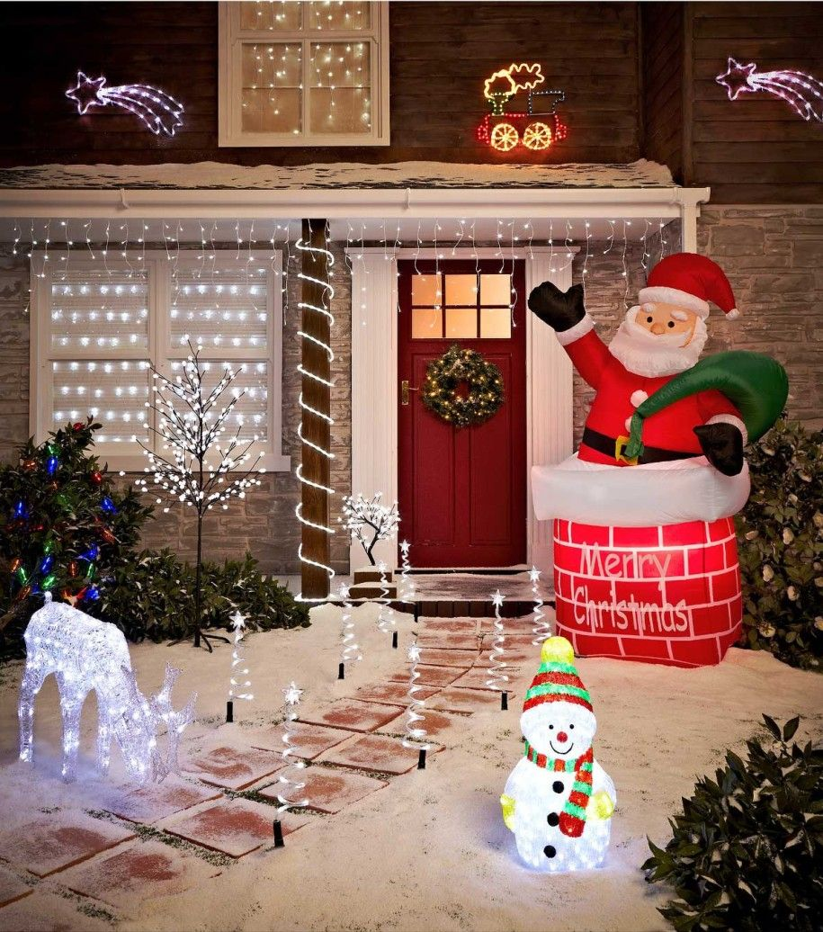 Christmas Lights Fantasy Decoration 50 Best Outdoor Decorations Http Homebnc