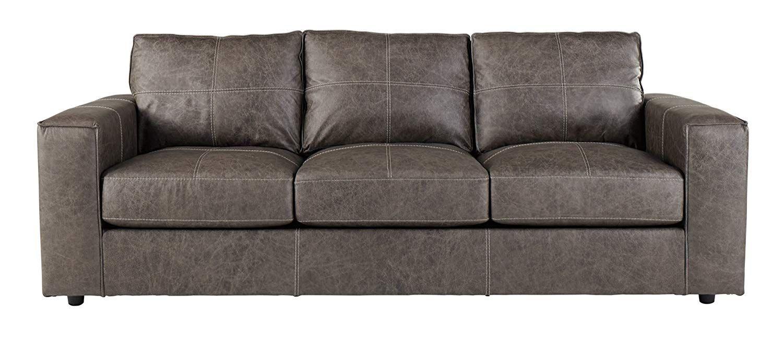 Ashley Furniture Signature Design Trembolt Contemporary Upholstered Sofa Smoke Grey Ashley Furniture Sofas Ashley Furniture Living Room Ashley Furniture