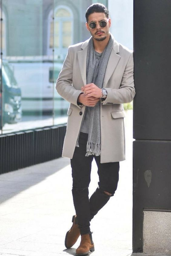 Overcoat Outfits For Men | How To Wear Overcoat