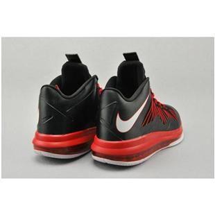 Nike Air Max Lebron X Low BlackRedWhite   Nike air max tn