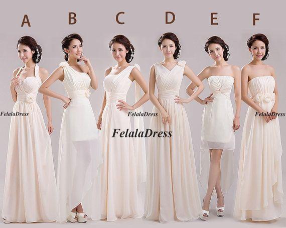 Long bridesmaid dress - For Holly