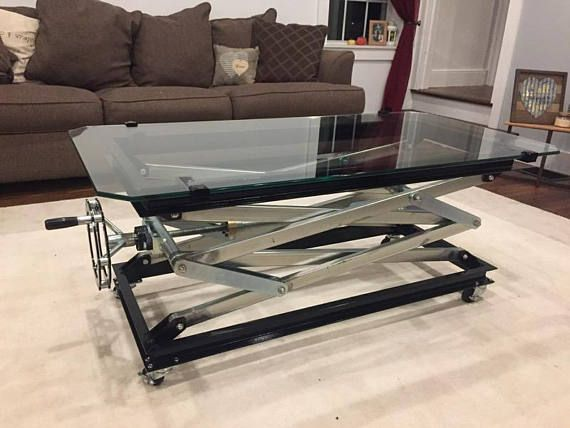 Scissor Lift Coffee Table