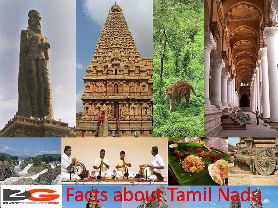 Interesting Facts about Tamil Nadu Tamil nadu, Fun facts