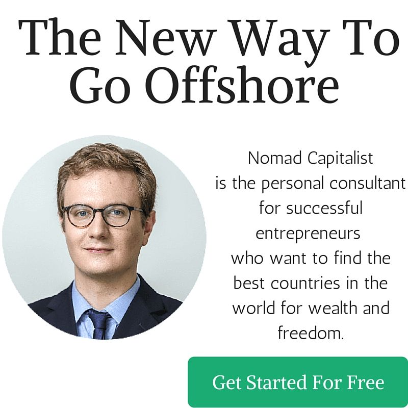 Nomad Capitalist helps people like you use simple, legal strategies to protect the wealth they have and make more of it in the world's safe havens.