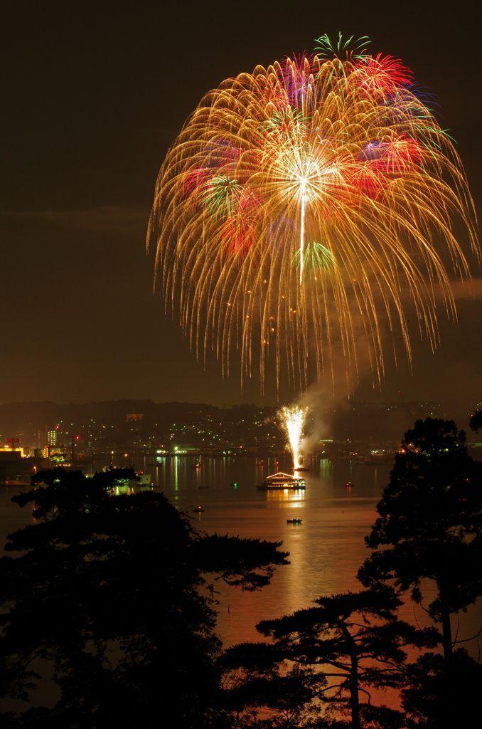 Miyagi, Japan - Fireworks