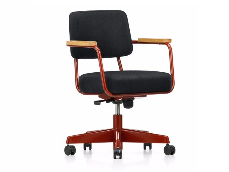Height Adjustable Chair With Casters Fauteuil Direction