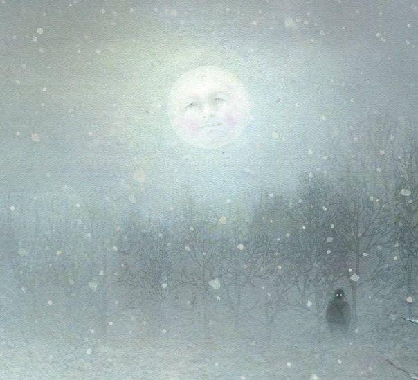 Немного зимы на иллюстрациях от художника Лисы Эванс. / Удивительное искусство