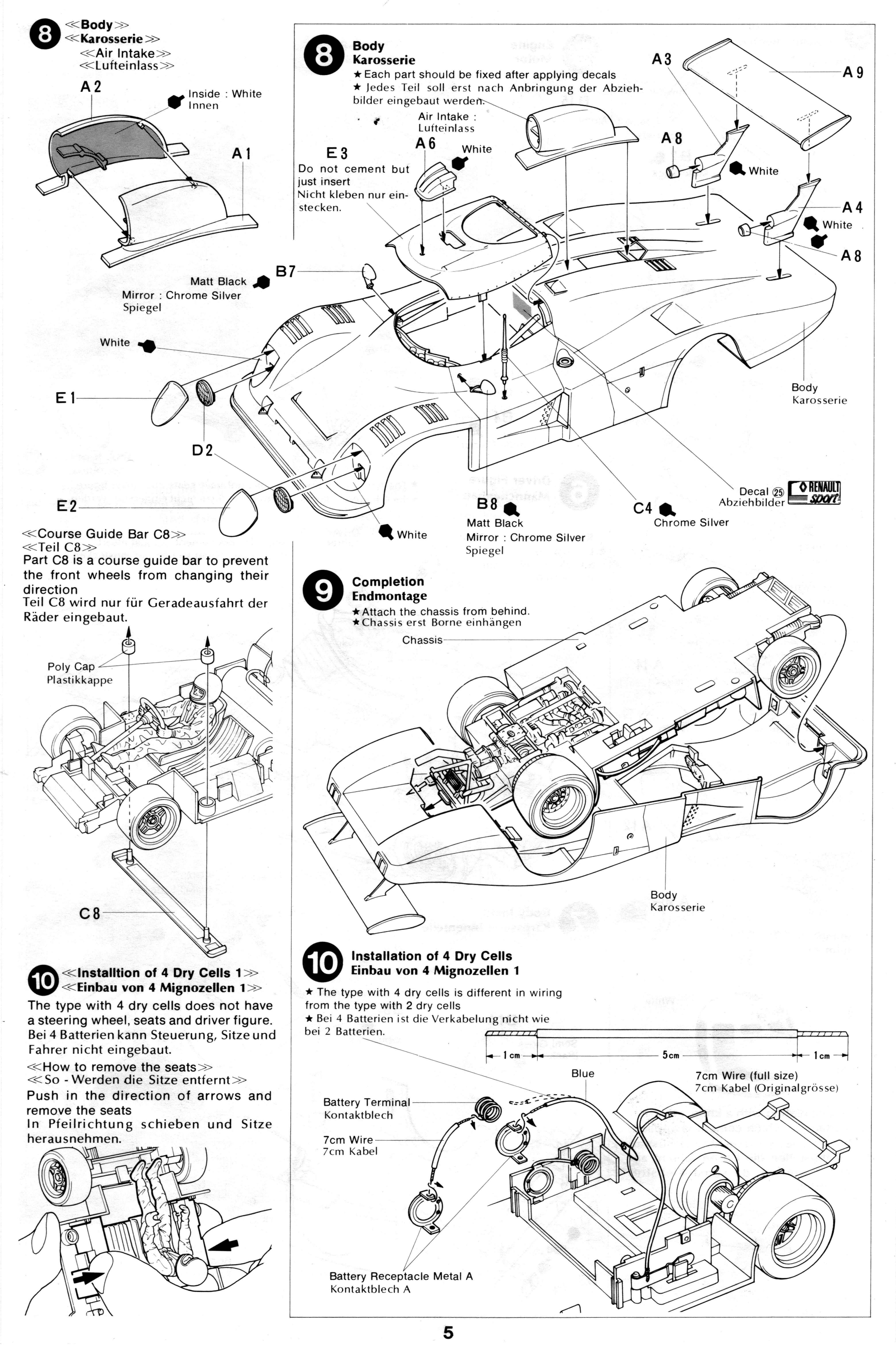 Pin By Gluefinger On Tamiya 1 24 Renault Alpine A442b Turbo Renault Alpine White Bodies How To Apply