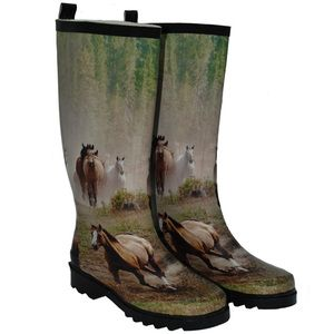Love these!   Womens rubber boots