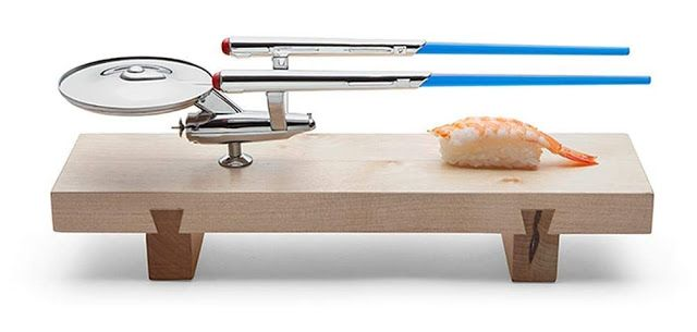 099594a10df7 i have this sushi board... scifi sushi  i can make a very basic  sushi california roll to serve on this.