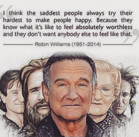 Sadness Robinwilliams Robin Williams Quotes Robin Williams Robin