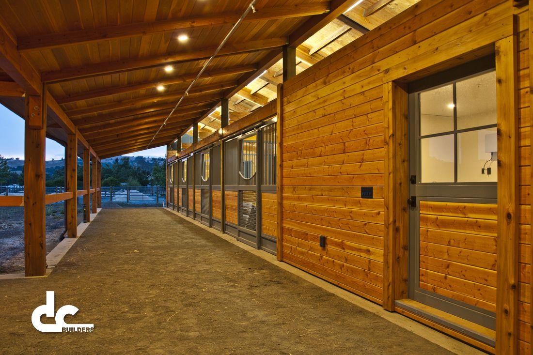 Custom Horse Barn In San Martin California Dc Building Horse
