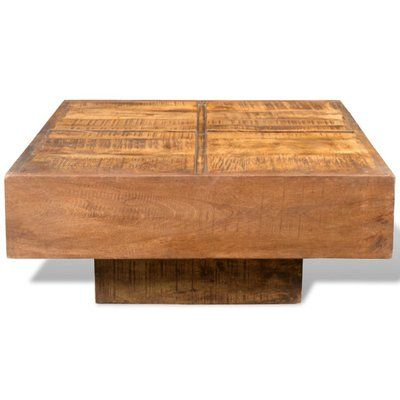 Williston Forge Kacem Coffee Table Colour Brown In 2020 Coffee