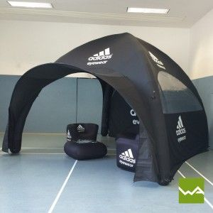 Aufblasbares Werbezelt / GYBE Event Tent für Adidas & Aufblasbares Werbezelt / GYBE Event Tent für Adidas   Pneumatische ...