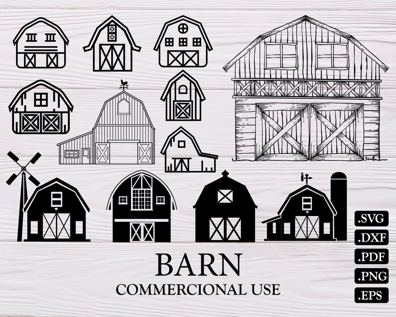 BARN SVG, farm svg, barn, farmhouse svg, farming svg, barn