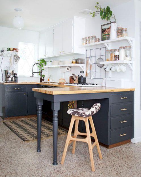 Reformar la cocina sin grandes obras | paint | Pinterest | Cocinas ...