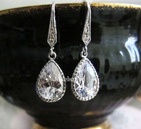 bruiloft  juwelen  bruids  oorbellen  voor  bruid  bruidsmeisjes