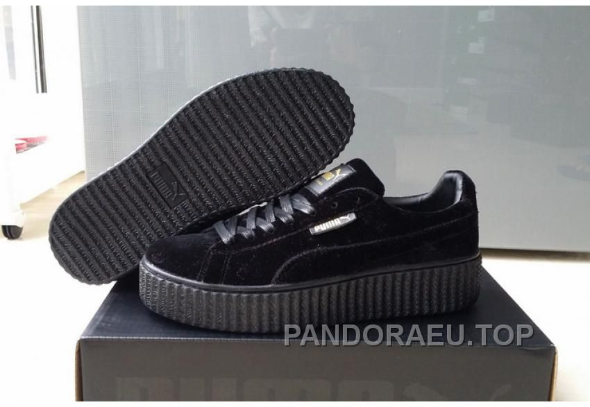 e70ba0fd4f60ca Find Puma By Rihanna Suede Creepers Black New Release Online online or in  Yeezyboost. Shop Top Brands and the latest styles Puma By Rihanna Suede  Creepers ...