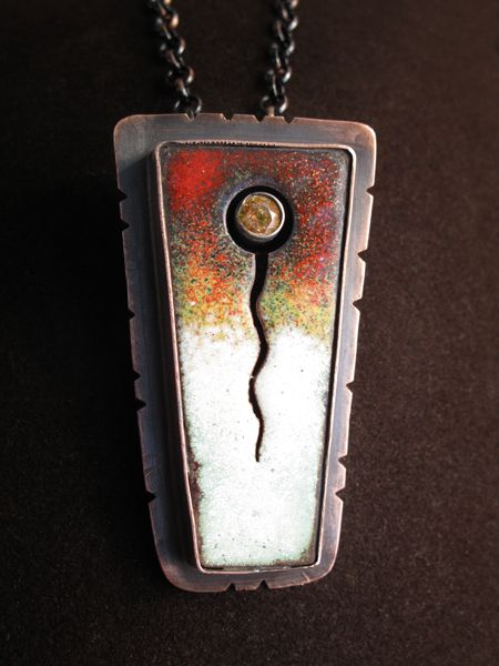 Fire and ice pendant richard salley art unravelled enamel fire and ice pendant richard salley art unravelled aloadofball Gallery