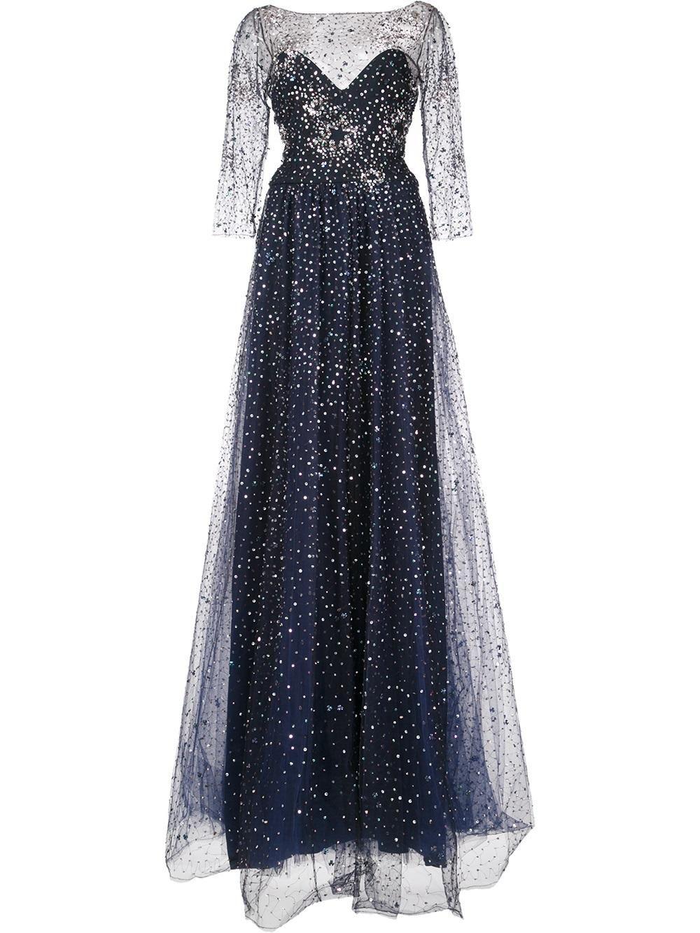 Marchesa Notte embellished gown | Гардероб | Pinterest | Marchesa ...