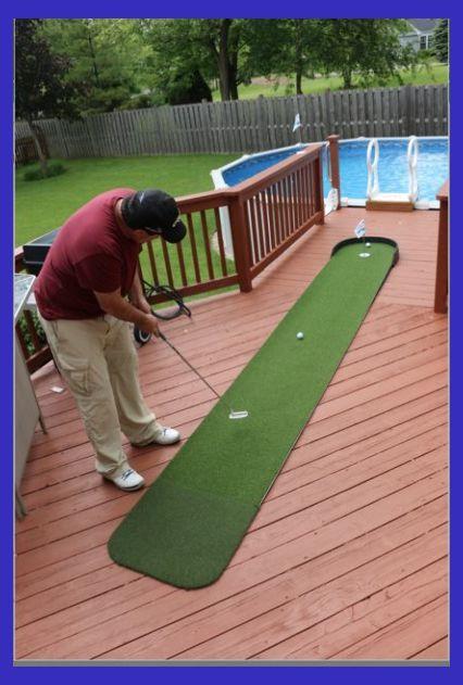 Big Moss Commander 3' x 15' Outdoor Putting Green   Home ...