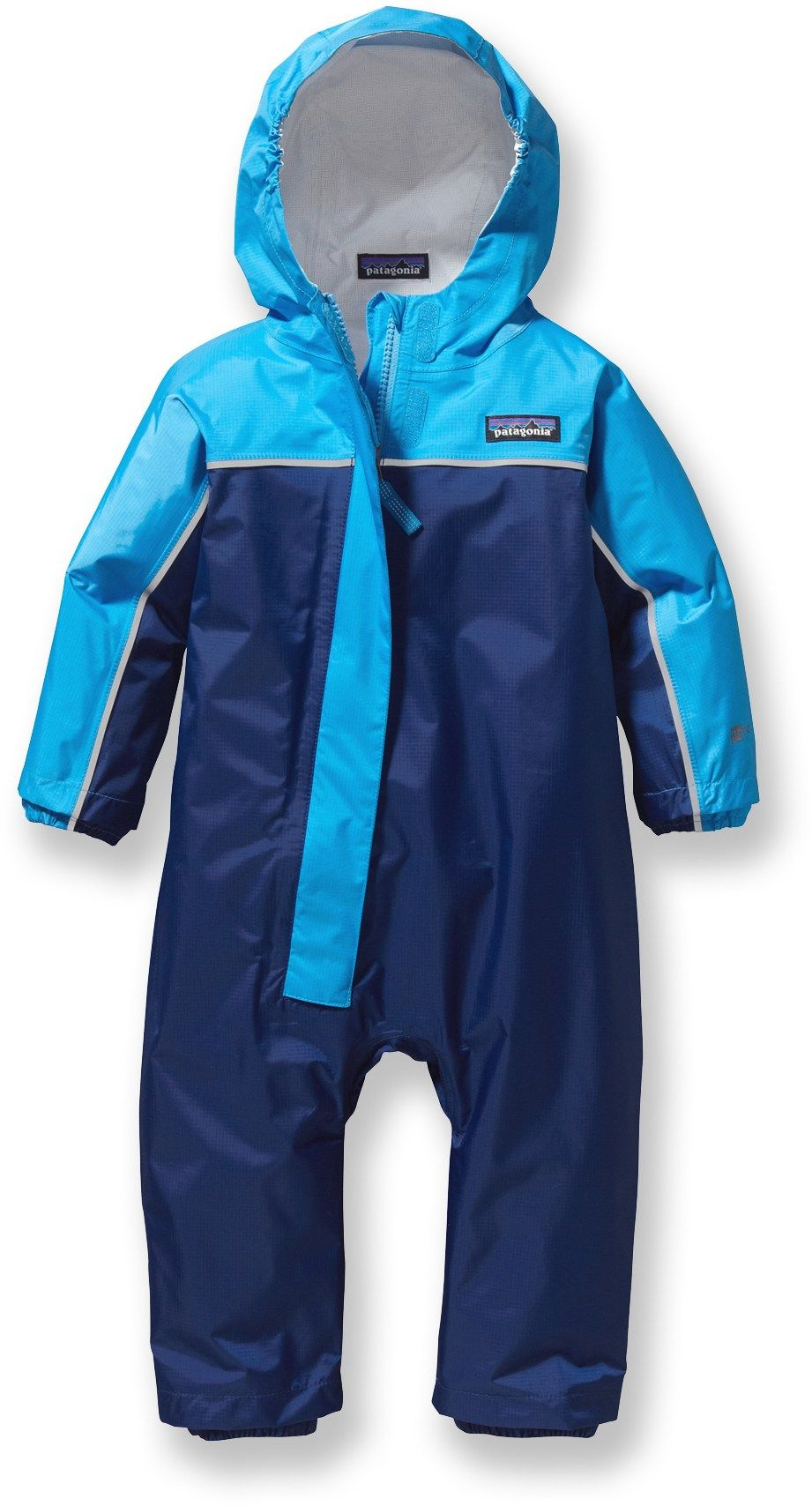 Patagonia Unisex Baby Torrentshell One-Piece Rain Suit - Toddlers - Blue 7e224bad64b2