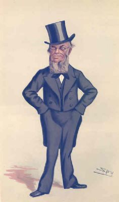 VANITY FAIR SPY CARTOON. George Burrow Gregory 'East Sussex'. Sussex. Spy. 1880