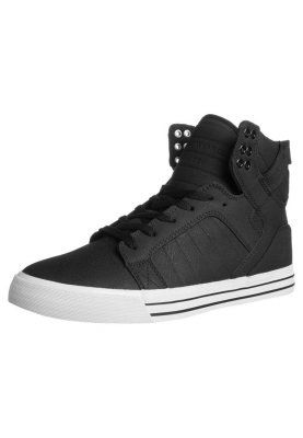 SKYTOP - Baskets montantes - black/white