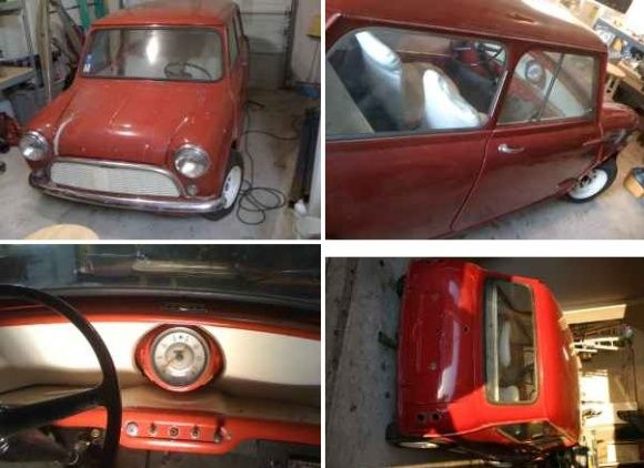 1960 Mini Mk1 850cc Project  dallas texas $3500 mini Pinterest - best of blueprint party dallas