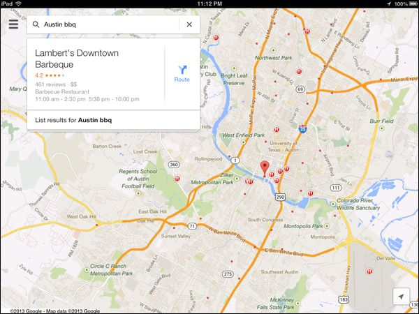 New Google Maps App For Ios Includes Dedicated Ipad Experience