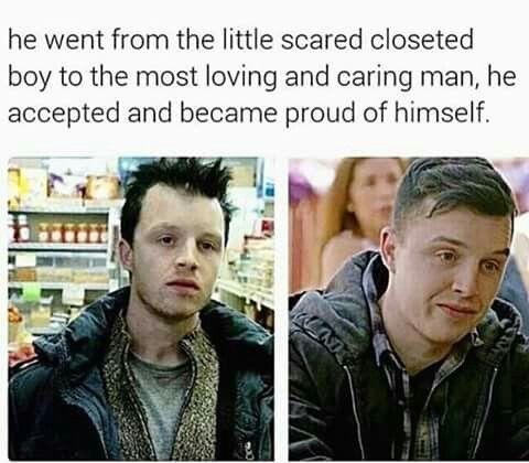 His Eyebrows Grew In Too Shameless Tv Show Shameless Memes Shameless Quotes
