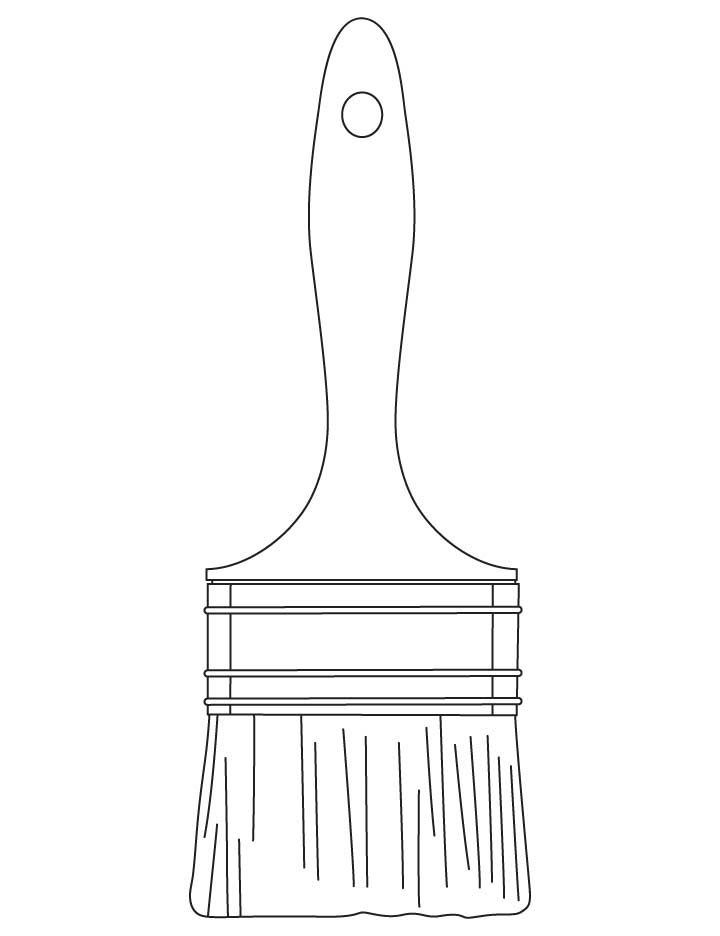 Paintbrush Coloring Pages Download Free Paintbrush Coloring Pages For Kids Coloring Pages Pattern Coloring Pages Watercolour Texture Background