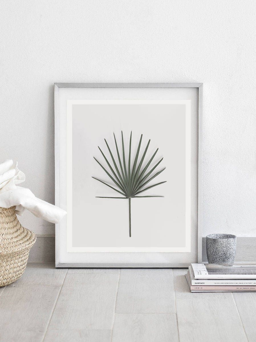 Leaf Print Botanical Wall Art Decor Instant Digital Prints