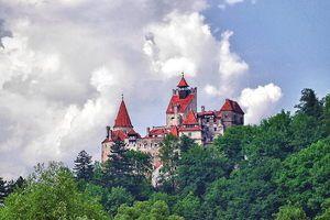 Bran Castle in Bran Romania